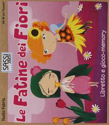 Amatigota.it Le fatine dei fiori. Libretto e gioco-memory Image