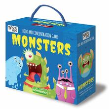 Radiospeed.it Monsters. Book and concentration game. Con gadget Image