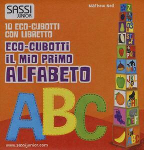 Il mio primo alfabeto. Eco-cubotti. Con gadget