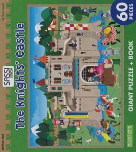 The knights' castle. Puzzle gigante. Con libro