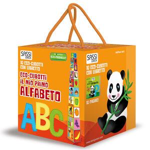 Il mio primo alfabeto. Eco-cubotti. Ediz. a colori. Con libretto