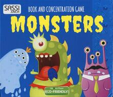 Daddyswing.es Monsters. Book and concentration game Image