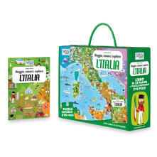 Secchiarapita.it L' Italia. Viaggia, conosci, esplora. Libro puzzle Image