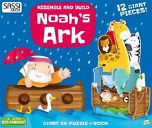 Nordestcaffeisola.it Noah's ark. Assemble and build. Libro puzzle Image