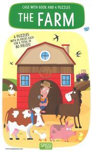 The farm. Libro puzzle. Ediz. a colori. Con Giocattolo