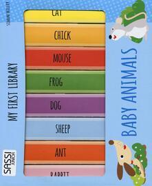 Radiospeed.it Baby animals. My first library. Ediz. illustrata Image