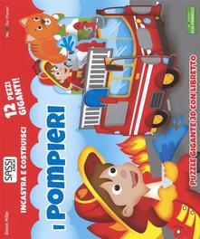Amatigota.it I pompieri. Incastra e costruisci. Libro puzzle Image