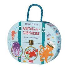 Animals on a submarine. Travel puzzle. Ediz. a colori. Con puzzle.pdf