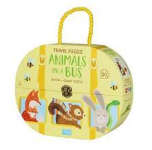 Voluntariadobaleares2014.es Animals on a bus. Travel puzzle. Ediz. a colori. Con puzzle Image