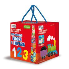 Milanospringparade.it Gioca e impara. Numeri, forme, colori, animali. Eco-cubotti. Ediz. a colori. Con libretto Image
