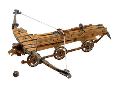 Le macchine di leonardo da vinci la catapulta e la for Catapulta di leonardo da vinci