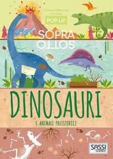 Radiospeed.it Dinosauri e animali preistorici. Pop-up sopra e sotto. Ediz. a colori Image