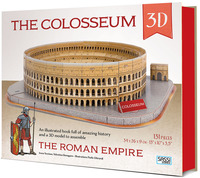 The The Colosseum 3D. The roman empire. Con Giocattolo - Trevisan Irena Bonaguro Valentina - wuz.it