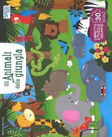Gli animali della giungla. Ediz. a colori. Con puzzle.pdf