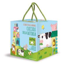 Grandtoureventi.it Cuccioli della fattoria. I cubotti degli animali. Ediz. a colori. Con gadget Image