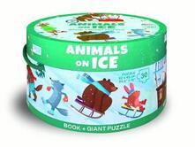 Steamcon.it Animals on ice. Ediz. a colori. Con puzzle Image