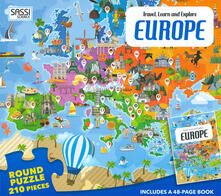 Daddyswing.es Europe. Travel, learn and explore. Con puzzle. Ediz. a colori Image