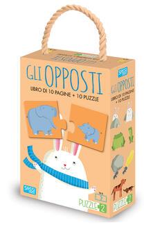 Ipabsantonioabatetrino.it Gli opposti. Puzzle 2. Ediz. a colori. Con puzzle Image