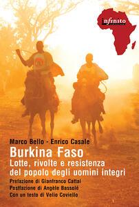Burkina Faso. Lotte, rivolte e resistenza del popolo degli uomini integri