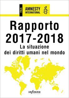 Lpgcsostenible.es Amnesty International. Rapporto 2017-2018. La situazione dei diritti umani nel mondo Image