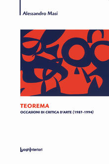 Radiospeed.it Teorema. Occasioni di critica d'arte (1987-1994) Image