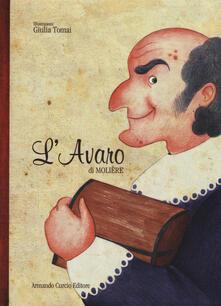 L' avaro - Molière - copertina
