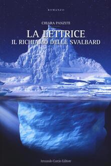 Il richiamo delle Svalbard. La Lettrice - Chiara Panzuti - copertina