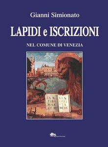 Lapidi e iscrizioni nel comune di Venezia.pdf