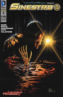 Capturtokyoedition.it Lanterna verde presenta: Sinestro. Vol. 3 Image
