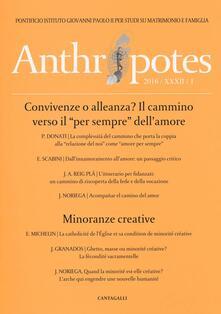 Listadelpopolo.it Anthropotes. Rivista di studi sulla persona e la famiglia (2016). Vol. 1 Image