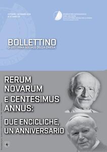 Bollettino di dottrina sociale della chiesa (2016). Vol. 4: Rerum novarum e centesimus annus: due encicliche, un anniversario.