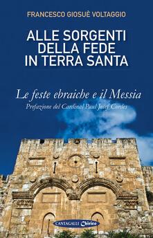 Promoartpalermo.it Alle sorgenti della fede in Terrasanta. Vol. 1: feste ebraiche e il Messia, Le. Image