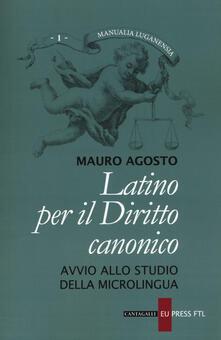 Latino per il diritto canonico. Avvio allo studio della microlingua.pdf