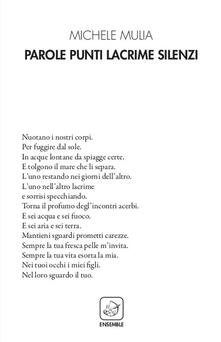 Parole punti lacrime silenzi - Michele Mulia - copertina