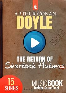 Thereturn of Sherlock Holmes. MusicBook include ambient soundtrack