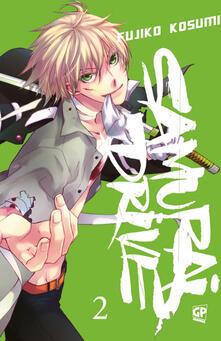 Samurai drive. Vol. 2 - Fujiko Kosumi - copertina