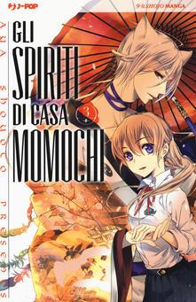 Cefalufilmfestival.it Gli spiriti di casa Momochi. Vol. 3 Image