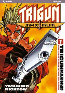 Trigun maximum. J-POP 10º Anniversary. Vol. 1 - copertina