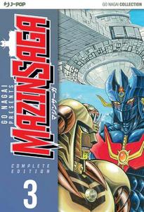 Libro Mazinsaga. Vol. 3 Go Nagai