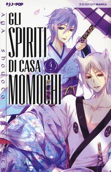 Festivalshakespeare.it Gli spiriti di casa Momochi. Vol. 4 Image