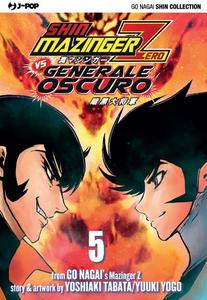 Libro Shin Mazinger Zero vs il Generale Oscuro. Vol. 5 Go Nagai , Yoshiaki Tabata , Yuki Yogo