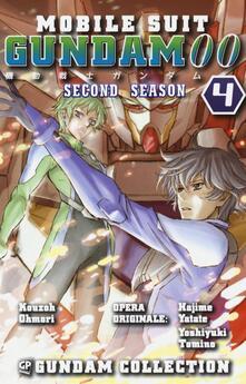 Gundam 00. 2nd season. Vol. 4 - Ohmori Kouzoh - copertina