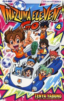 Inazuma eleven go. Vol. 4 - Tenya Yabuno - copertina