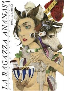 La ragazza ananas. Genso gynaecocracy - Hiroaki Samura - copertina