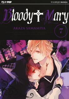 Bloody Mary. Vol. 7 - Akaza Samamiya - copertina