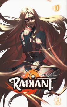 Radiant. Vol. 10 - Tony Valente - copertina