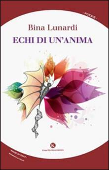 Echi di un'anima - Bina Lunardi - copertina