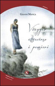 Viaggio attraverso i pensieri - Gianni Manca - copertina