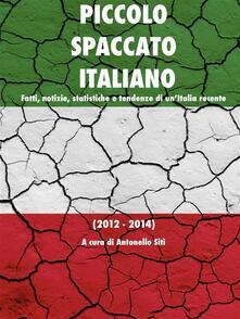 Piccolo spaccato italiano - Antonello Siti - ebook