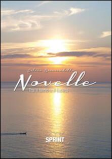 Novelle (tra il serio e il faceto) - Silvio Ricciardetto - copertina